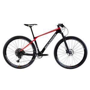 Mountainbike 29 Zoll Rockrider XC 900 Carbon rot/schwarz
