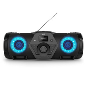 HIFI KPA JVC Boomblaster RV-NB300DAB [60 Watt RMS, DAB+, UKW, Bluetooth, CD, USB, Line-In, Fernbedienung]