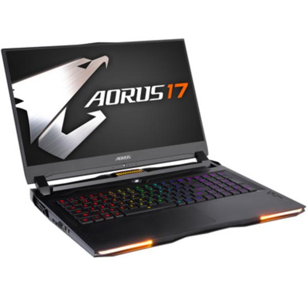 "GIGABYTE AORUS 17 GAMING 17,3"" FHD 240Hz, i9-9980HK, RTX 2080, 32GB RAM, 1TB SSD + 2TB HDD, Windows 10"