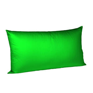 KISSENHÜLLE Grün 40/80 cm