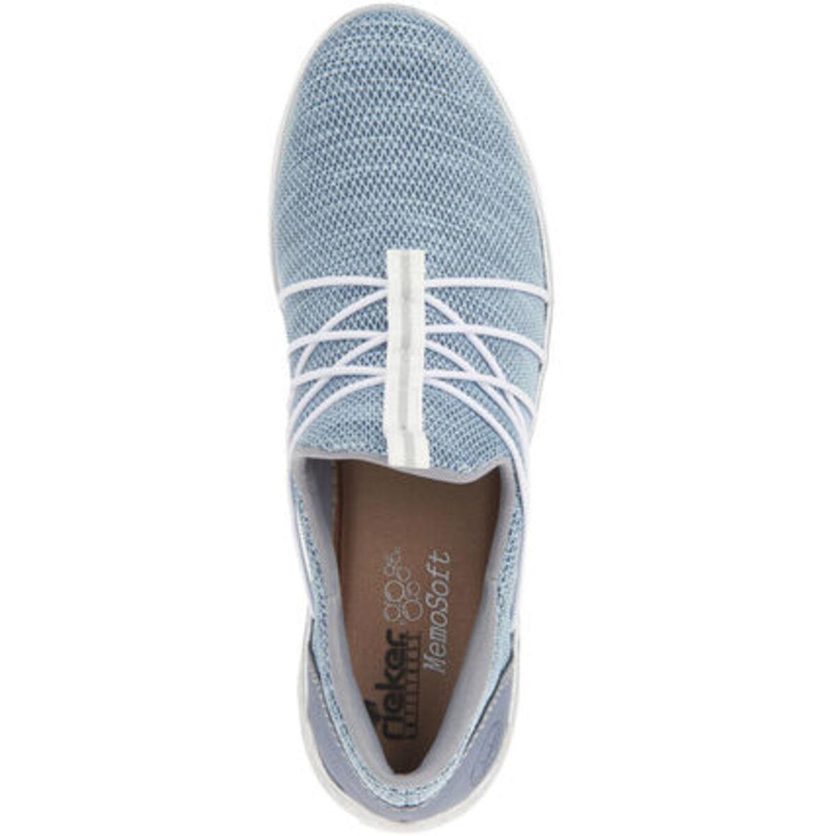 Bild 2 von Rieker Sneaker, Slipper, melierte Optik, für Damen