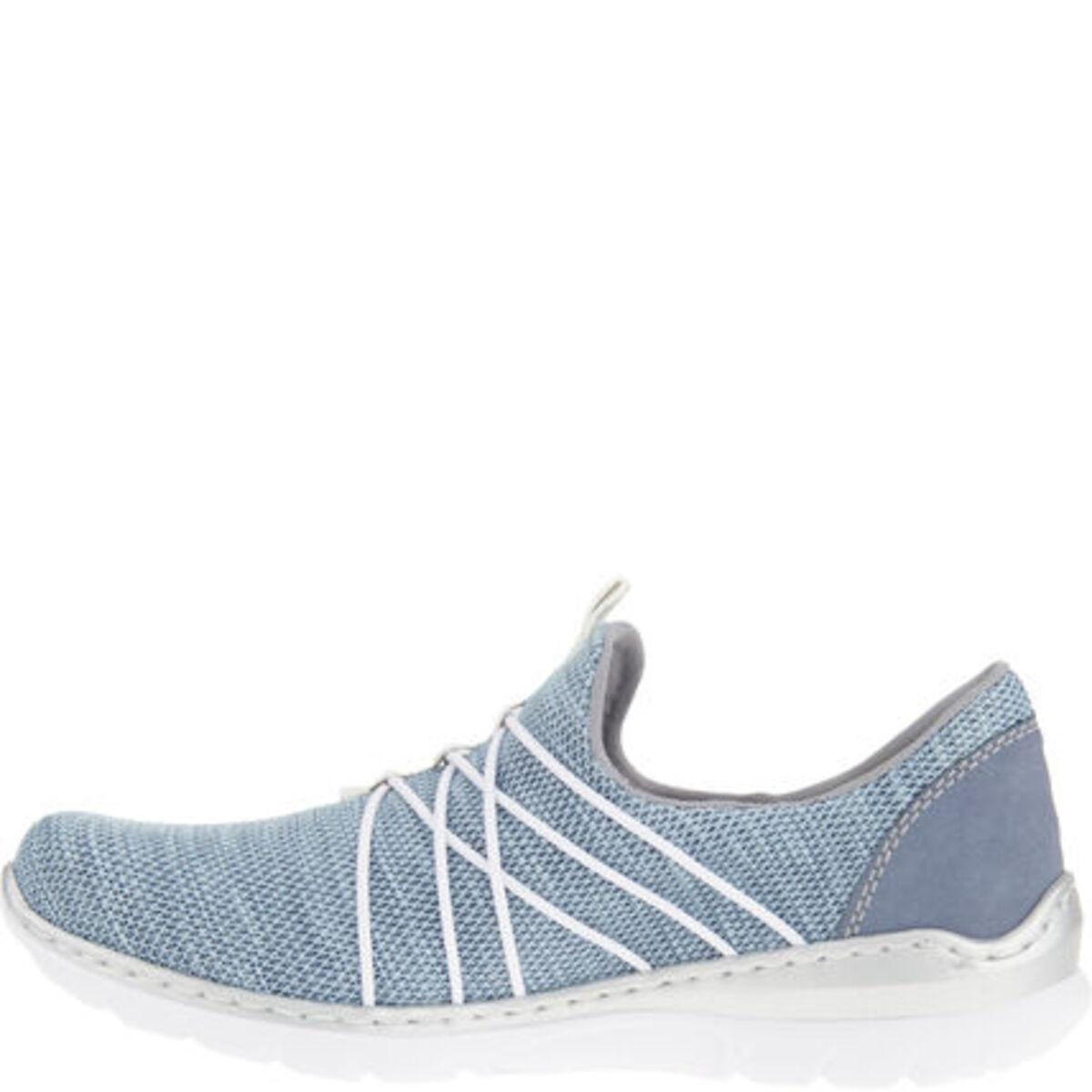 Bild 3 von Rieker Sneaker, Slipper, melierte Optik, für Damen
