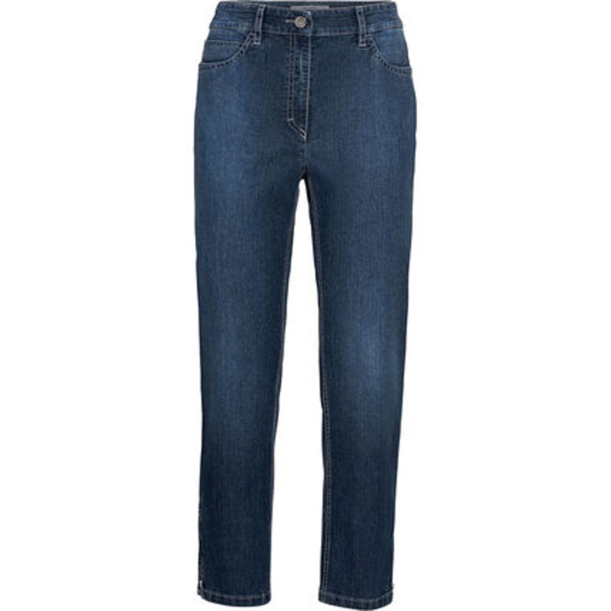 Bild 1 von Zerres Jeans, 7/8 Länge, Zipp, uni, für Damen