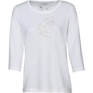 Adagio Shirt, 3/4 Arm, bestickt, Strass, für Damen