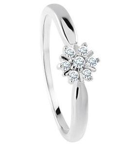 Vandenberg Damen Ring, 375er Weißgold mit 7 Diamanten