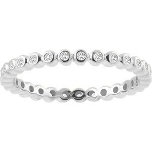 Vandenberg Damen Ring, 375er Weißgold mit Diamanten