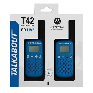 Motorola - Talkabout Walkie-Talkies, blau