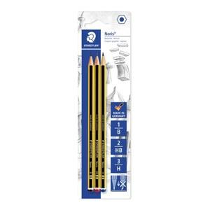 Staedtler - 3 Bleistifte mit Stärke H