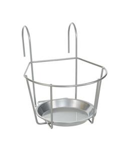 Dehner Metall-Balkonblumentopfhalter Lundy, ca. B18/H18/T18 cm