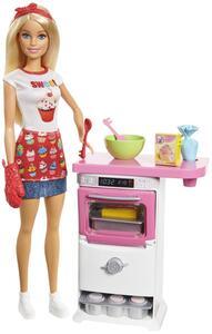 Barbie CB Bäckerin und Spielset