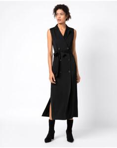 Hallhuber Blazerkleid in Midilänge für Damen in schwarz