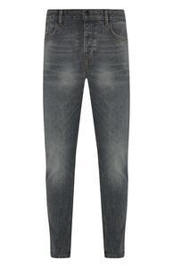 Graue Slim-Fit-Jeans
