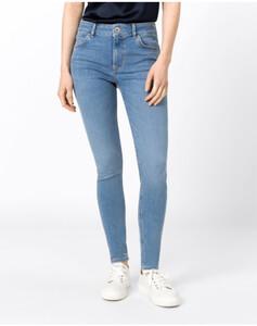 Hallhuber Basic-Skinny MIA für Damen in light blue denim