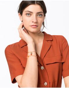 Hallhuber Zweiteiliges Armband-Set für Damen Gr. One Size in gold