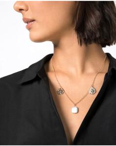 Hallhuber Halskette mit echter Süßwasserperle für Damen in gold
