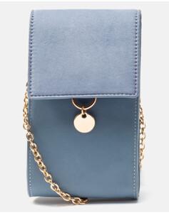 Hallhuber Smartphone-Umhängetasche für Damen Gr. One Size in hellblau