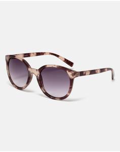 Hallhuber Sonnenbrille mit Gestell in Horn-Optik für Damen Gr. One Size in braun