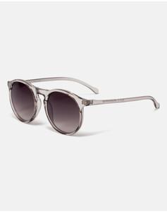 Hallhuber Sonnenbrille mit transparentem Gestell für Damen Gr. One Size in taupe