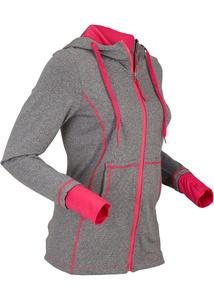 Sportliche Trainingsjacke, langarm