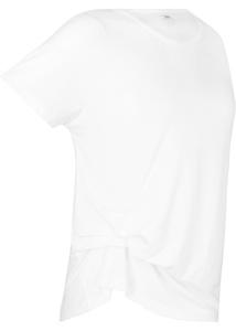 Sport-Shirt mit Raffung, kurzarm