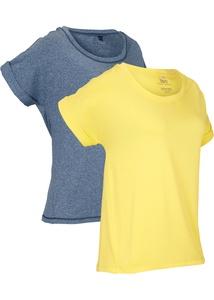 Modernes Sport-Shirt, 2er-Pack, kurzarm