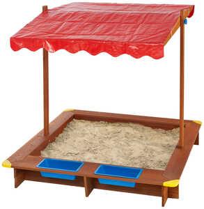 KIDLAND®  Sandkasten mit Dach