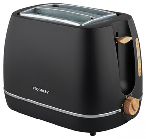 Progress Scandi Toaster schwarz