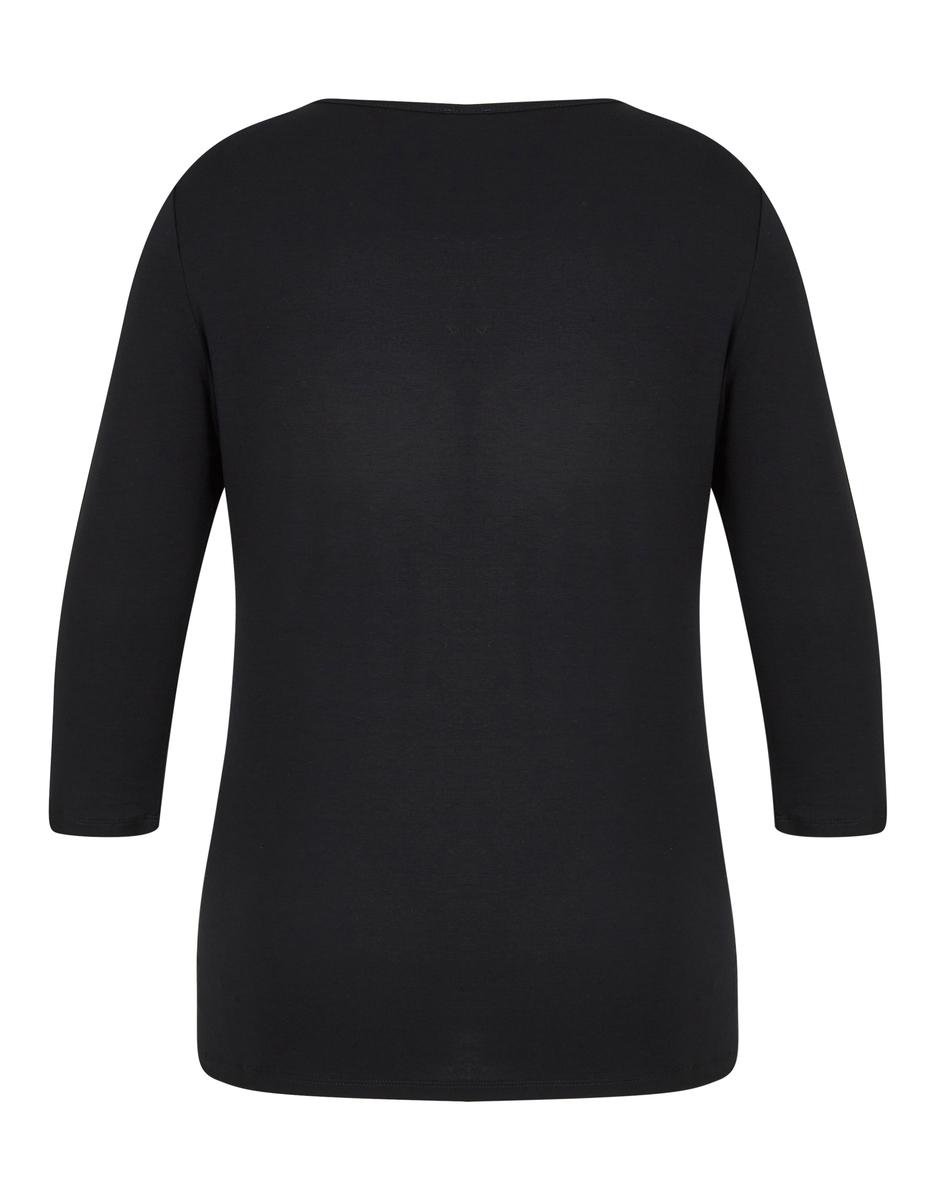 Bild 2 von Viventy - Basic-Shirt mit Spitzenbesatz