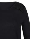 Bild 3 von Viventy - Basic-Shirt mit Spitzenbesatz