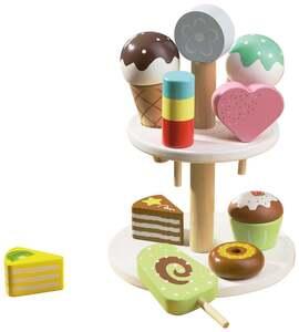 IDEENWELT Kuchen- und Eis-Etagere