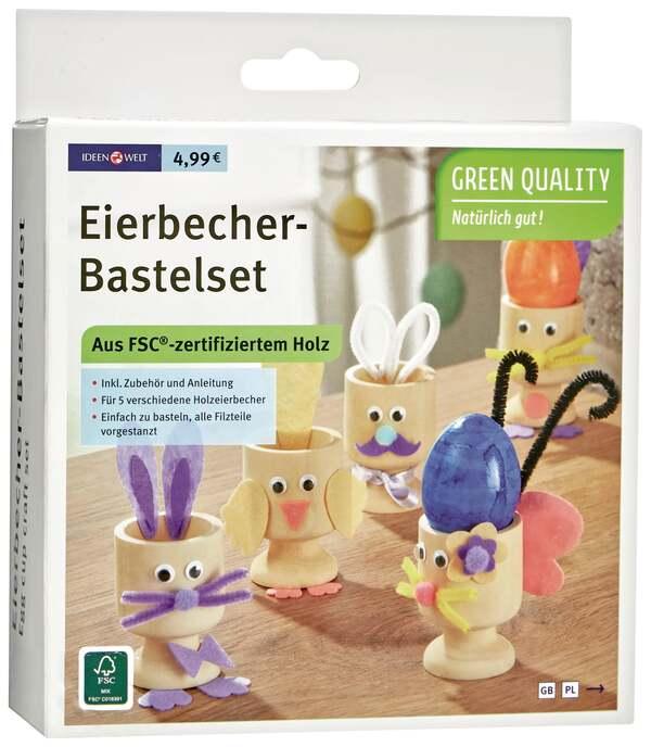 IDEENWELT Eierbecher-Bastelset