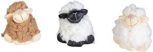Schaf - aus Terrakotta - 6 x 4,5 x 4,5 cm - 1 Stück
