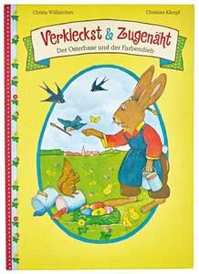 """IDEENWELT Buch """"Verkleckst & Zugenäht"""" Der Osterhase & der Farbendieb"""