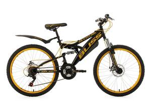 KS Cycling Jugendfahrrad Mountainbike Fully 24'' Bliss