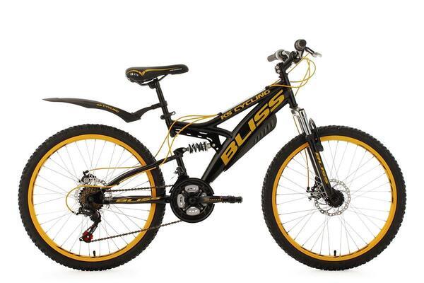 KS Cycling Jugendfahrrad Mountainbike Fully 24'' Bliss