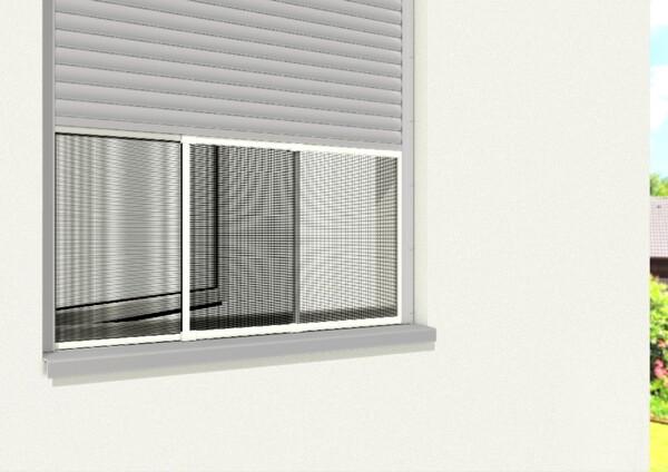 Powertec Insektenschutzrahmen Schiebefenster Standard