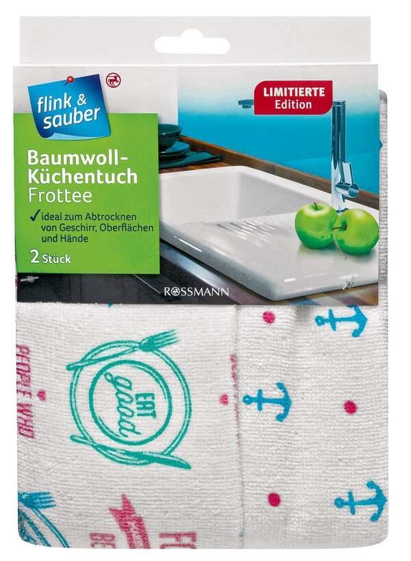 flink & sauber Baumwoll-Küchentuch