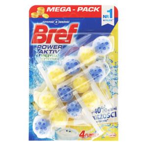 Bref Power Aktiv WC Stein Lemon 3x 50 g