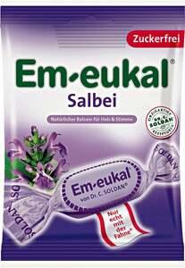 Em-eukal Salbei-Hustenbonbons mit Vitamin C