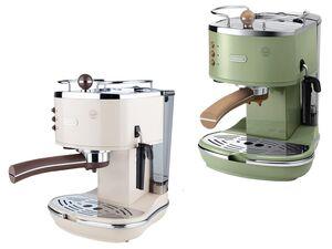 Delonghi Espressomaschine, mit Crema-Multifunktions-Siebträger, Cappuccino-Aufschäumdüse