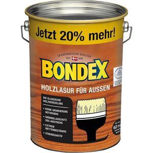 Bondex Holzlasur für Außen Rio-Palisander 4,8 l