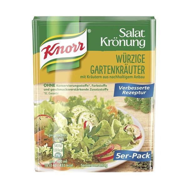 Knorr Salat Krönung versch. Sorten, 5er-Packung   5er Packung