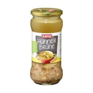 Larco Hühnerbrühe verschiedene Sorten jedes-340-ml-Glas