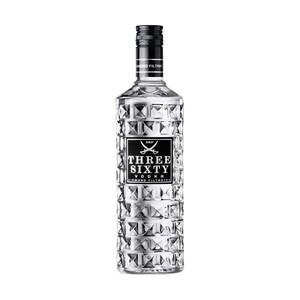 Three Sixty Vodka 37,5 % Vol., jede 0,7-l-Flasche