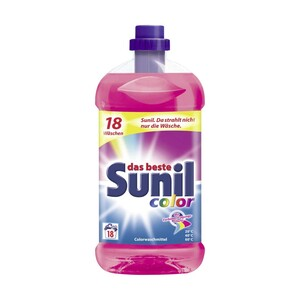 Sunil Waschmittel 15 oder 18 Waschladungen, versch. Sorten, jede Flasche