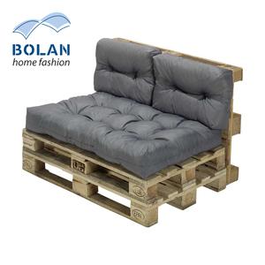 Palettensitzkissen-Set Oberfläche wasser- und schmutzabweisend, bestehend aus: 2 Rückenkissen je 60 x 40 cm, 1 Sitzkissen 120 x 80 cm (o.Paletten)