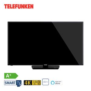 D50U550N4CWH • 3 x HDMI, 2 x USB, CI+ • integr. Kabel-, Sat- und DVB-T2-Receiver • Maße: H 65,6 x B 113 x T 8,2 cm • Energie-Effizienz A+ (Spektrum A++ bis E)