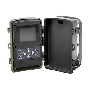 Überwachungs-Kamera WCT-8010 • 5,08-cm-LCD-Farbdisplay • Videoauflösung: 1080p/720p • PIR-Sensor • Kamera-Schutzklasse IP65 • nachtsichtfähig • microSD™-Kartenslot • Batteriebetrie