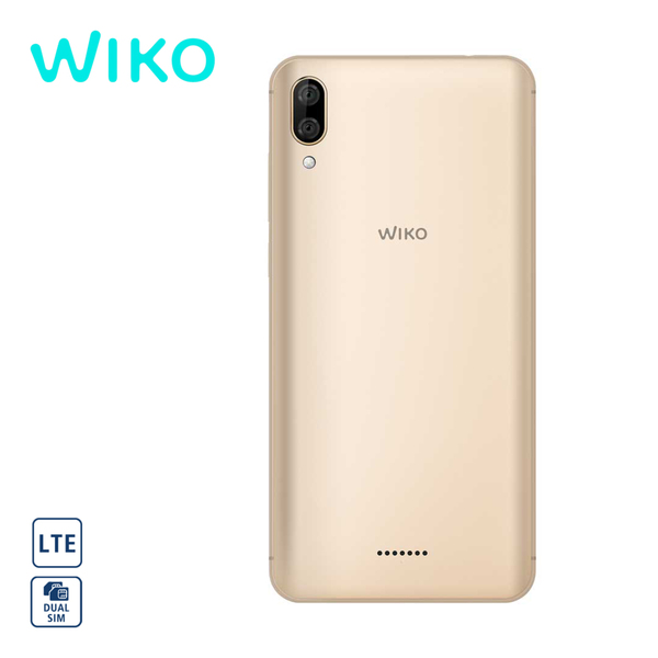 Smartphone Y80 · Dual-Rückkamera (13+2 MP) · Frontkamera (5 MP) · 2-GB-RAM, bis zu 16-GB-interner-Speicher · microSD™-Slot bis zu 128 GB · 1 x microSIM und 1 x nanoSIM · Android™ 9.0