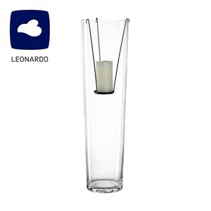 Glasvase mit Kerzeneinsatz - ca. 70 cm hoch, hierzu erhältlich: Stumpenkerze 2er-Pack ab 3,29